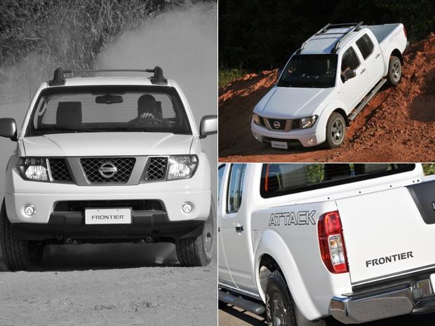 Nissan Frontier tem boa suspensão, visual mais agressivo, mas perde pela idade (Foto: Divulgação)