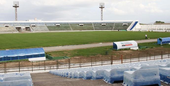 Estádio Amigão em Campina Grande (Foto: Magnus Menezes / Jornal da Paraíba)