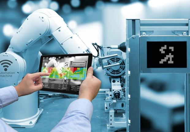 Indústria 4.0 ; tecnologia ; inovação ; robotização ; revolução digital ;  (Foto: Shutterstock)