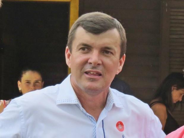 O prefeito de Teodoro Sampaio, Ailton César Herling (PSB) (Foto: Divulgação/Prefeitura)