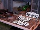 Com GPS, PM descobre desmanche de veículos roubados na Grande Natal