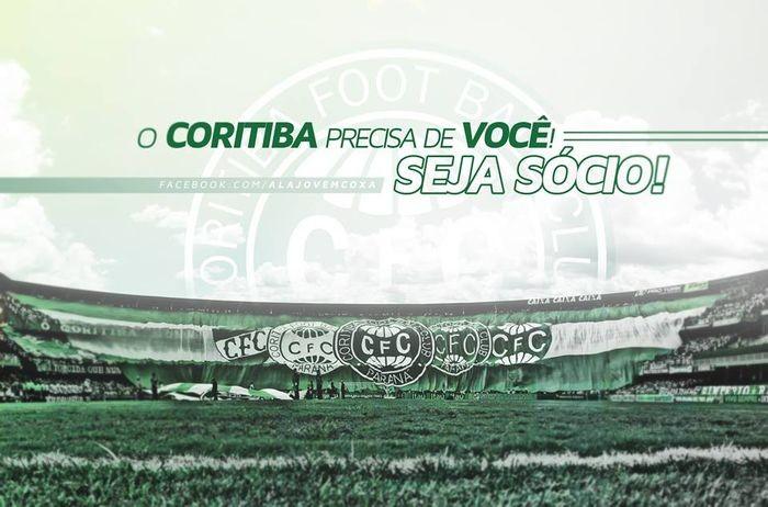 Blog Torcida Coritiba - campanha sócio Coritiba