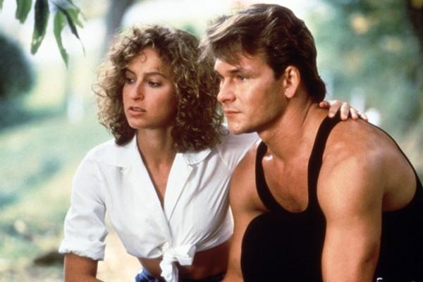 Jennifer Grey e Patrick Swayze em 'Dirty Dancing' (1987) (Foto: Reprodução)