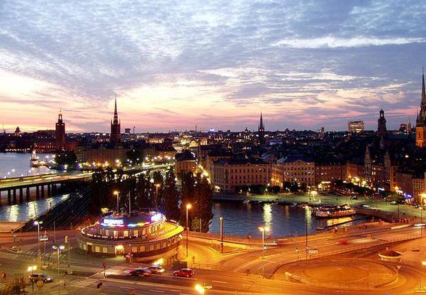 Estocolmo - Suécia (Foto: (Foto: Oke/Wikipedia))