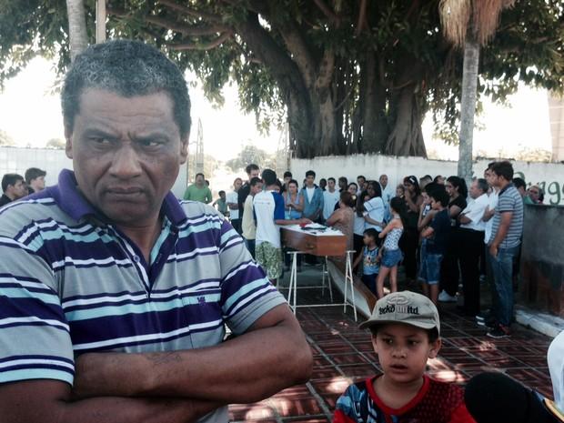 Tio de Giovanni está preocupado com a impunidade  (Foto: Ana Carolina Levorato/G1)