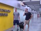 Dois nadadores americanos são impedidos de embarcar para os EUA