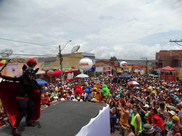 Concurso de Papangu em Bezerros (Foto: Alessandra Costa/ G1)