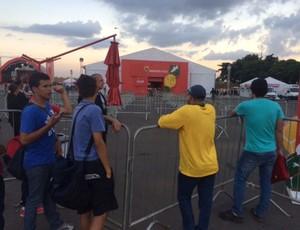 Tour da Taça Copa do Mundo Brasília (Foto: Fabrício Marques)
