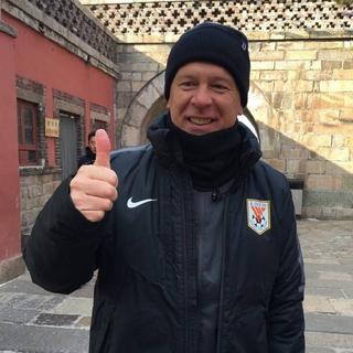 Mano Menezes frio China (Foto: Reprodução)