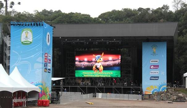 Paraná TV Pedreira  (Foto: Alice Rodrigues/FCC)