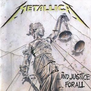 Capa de '...And justice for all', disco de 1988 do Metallica (Foto: Divulgação)