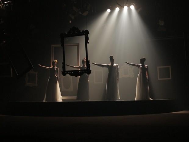 Bastidores do clipe 'Alguns Sonhos' (Foto: TV Globo)