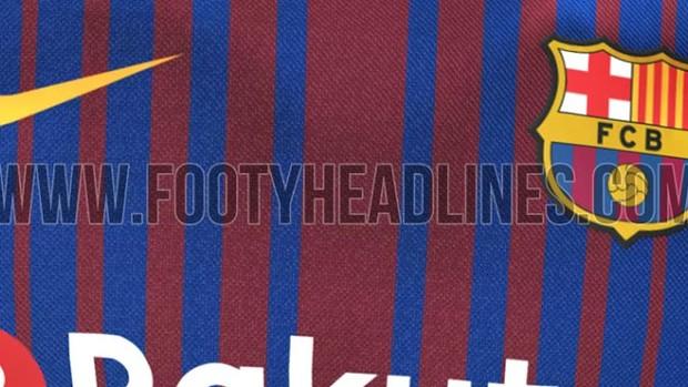 Nova camisa do Barcelona