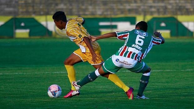 brasiliense 0 x 0 baraúnas série C (Foto: Cláudio Bispo / BrasilienseFC)