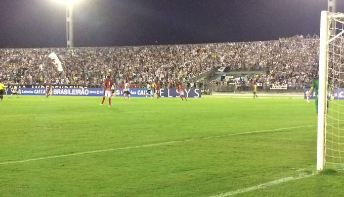 botafogo-pb x boa esporte; estádio almeidão (Foto: Edgley Lemos / GloboEsporte.com/pb)