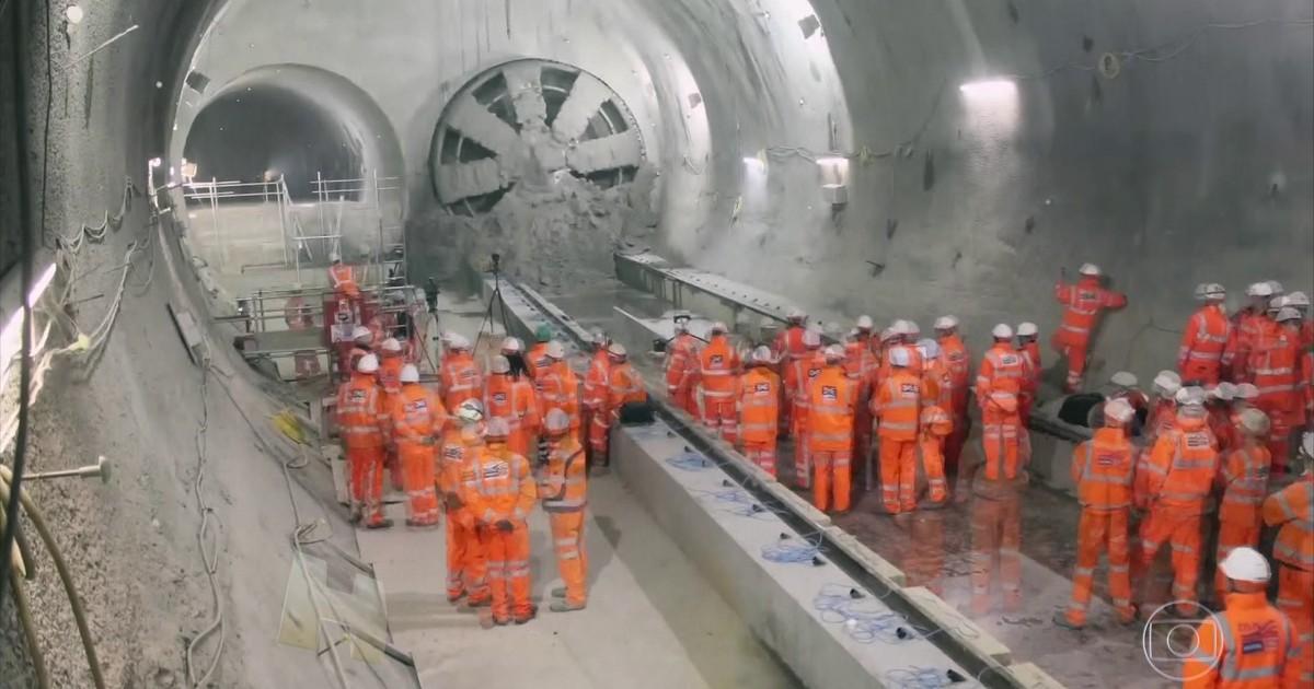 Londres tem o maior projeto de engenharia civil em construção