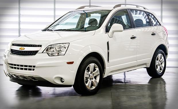 Chevrolet Captiva 2014 (Foto: General Motors)