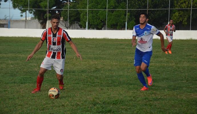 Santa Cruz-PB x CSP, Santa Cruz-PB, CSP, Campeonato Paraibano (Foto: Larissa Keren / GloboEsporte.com/pb)