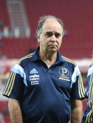 Marcelo Oliveira, técncio do Palmeiras (Foto: Diego Guichard)