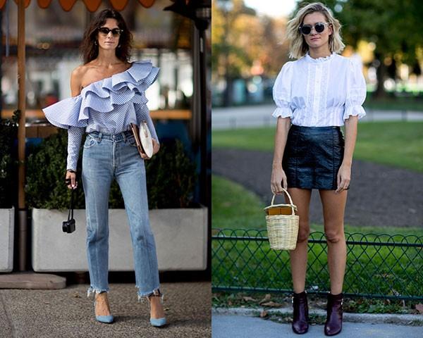 Babdos mais exagerados ou discretos nas blusas e camisas (Foto: Imaxtree)