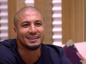 BBB às 23h34m do dia 26/02. (Foto: Big Brother Brasil)