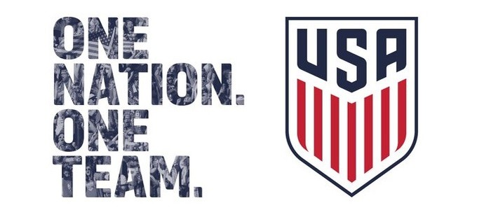 Novo escudo Estados Unidos federação americana de futebol (Foto: Divulgação)