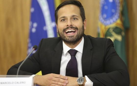 O novo ministro da Cultura, Marcelo Calero (Foto: Fabio Rodrigues Pozzebom/ Agência Brasil)