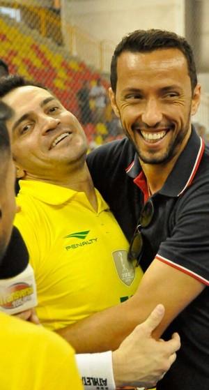 Nenê Falcão Sorocaba Vasco (Foto: Danilo Camargo/Magnus Futsal)