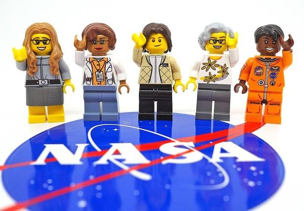 Lego anunciou uma nova linha de brinquedos em homenagem às mulheres que fizeram parte do programa espacial dos Estados Unidos (Foto: Reprodução/Facebook)