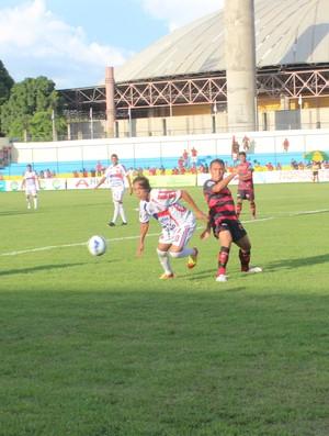 Flamengo-PI x Barras pela segunda rodada do Piauiense (Foto: Náyra Macêdo/GLOBOESPORTE.COM)