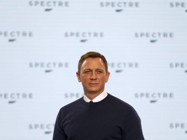 Daniel Craig irá interpetar mais uma vez o agente secreto James Bonde em 'Spectre' (Foto: Stefan Wermuth/Reuters)