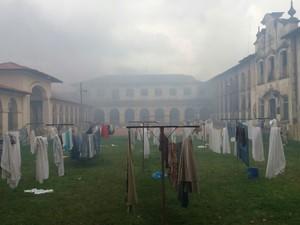 Imagens mostram penitenciária após rebelião (Foto: César Evaristo/TV TEM)