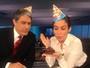 Bonner e Renata Vasconcellos comemoram aniversário do JN