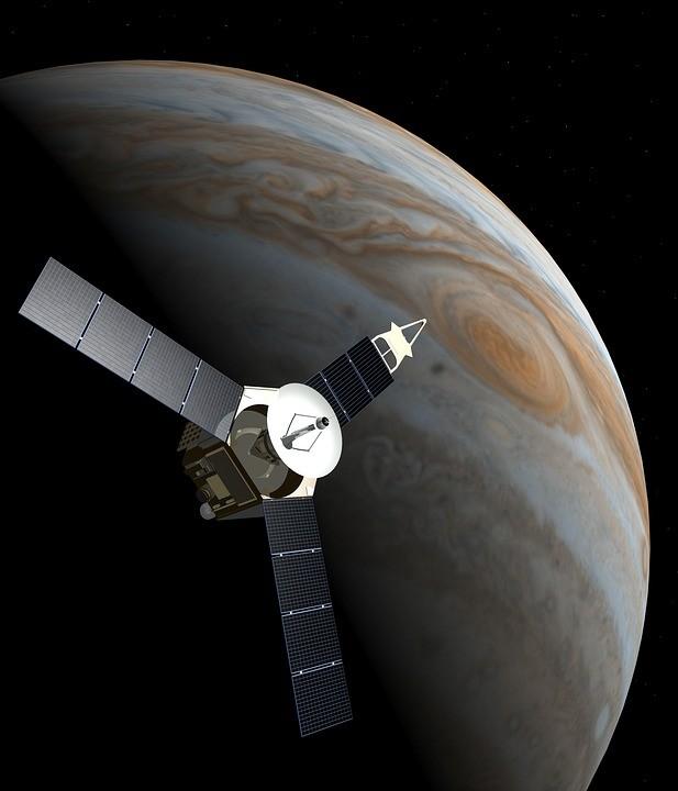 Sonda Juno em Júpiter (Foto: Pixabay/ DasWortgewand/ Creative Commons)