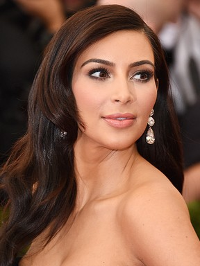[BELEZA - Galeria vertical MET] Kim Kardashian (Foto: AFP / Agência)