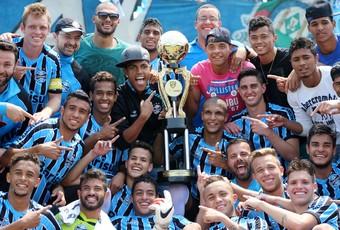 Grêmio sub-20 campeão estadual (Foto: Fernando Martinez/Aguante Comunicação)