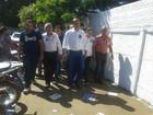 Sandoval Cardoso, do SD, vota pela manhã no norte do Tocantins