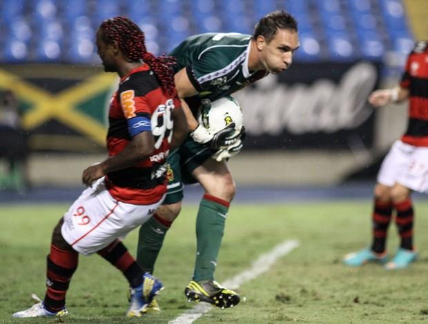 Fernando Prass Vasco x Flamengo (Foto: Luciano Belford / Ag. Estado)
