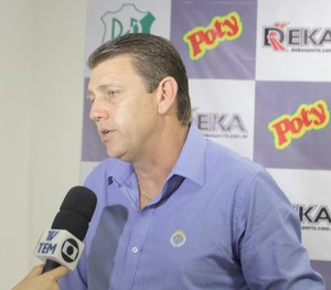 Ricardo Moraes, novo técnico do Rio Preto (Foto: Divulgação / Rio Preto EC)