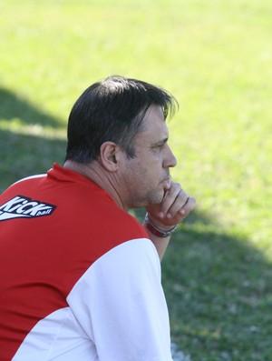 Maurílio Paccini, técnico do Uberaba Sport (Foto: Enerson Cleiton)