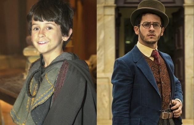A estreia de David Lucas foi em 'Alma gêmea' (2005), de Walcyr Carrasco. Em 2016, ele atuou em 'Êta mundo bom!', do mesmo autor (Foto: Divulgação/TV Globo)