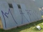 MP investiga pichações na Igrejinha da Pampulha, em Belo Horizonte