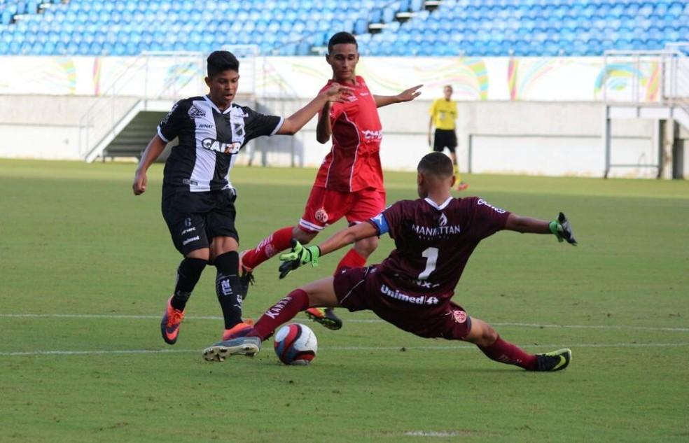 ABC e América-RN empatam sem gols na decisão do Campeonato Potiguar Sub-15 e Alvinegro fica com título (Foto: Andrei Torres/ABC)