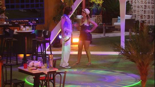 Vivian confronta Ilmar e diz: 'Desinfeliz'