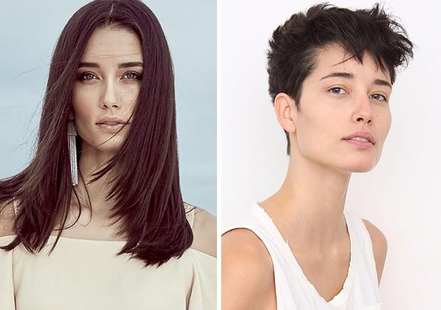 Antes e depois: Marcelia Freesz (Foto: Reprodução)
