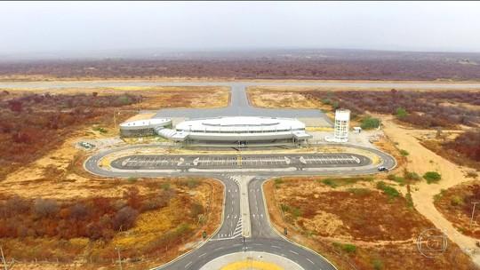 Aeroporto internacional avaliado em  R$ 17 milhões está subutilizado no PI