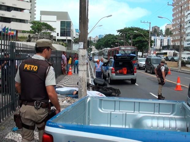 acidente (Foto: Gabriel Gonçalves/G1)