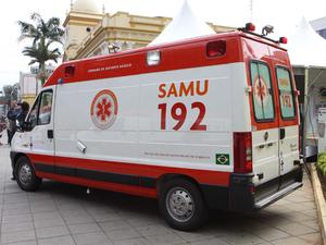 Ambulância SAMU (Foto: Divulgação)