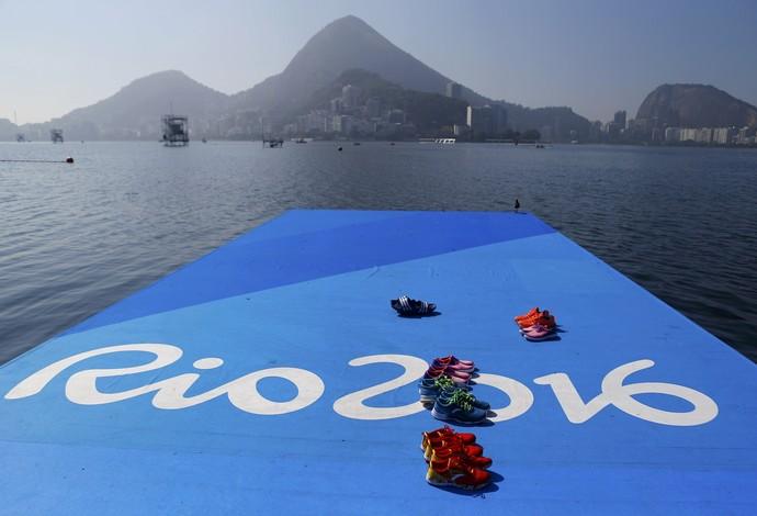 Rio 2016 Lagoa Rodrigo de Freitas (Foto: Reuters)
