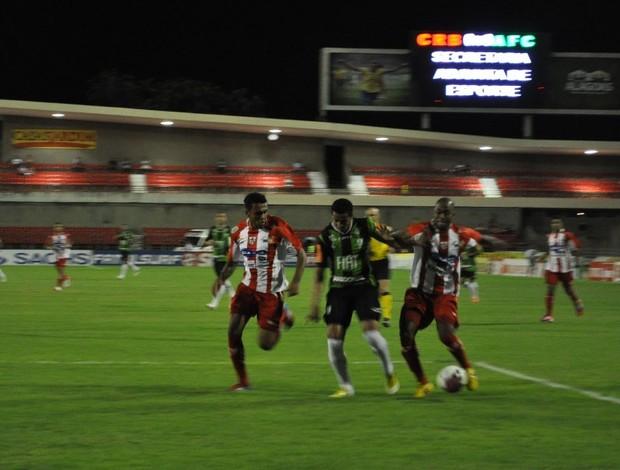 CRB e América-MG se enfrentam no Rei Pelé (Foto: Divulgação / Assessoria do América-MG)